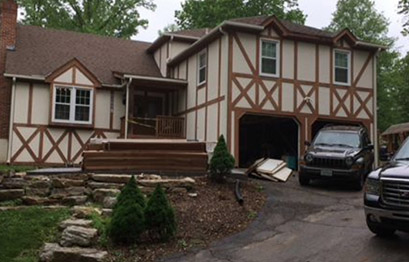 St. Louis home siding installation