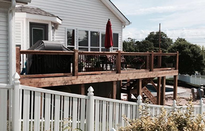 St. Louis home deck instalation