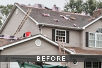 St. Louis single roof installation