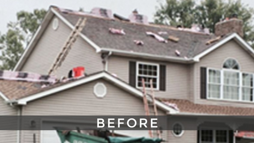 St. Louis single roof installation