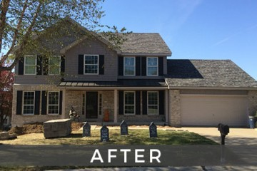 St. Louis exterior siding renovation