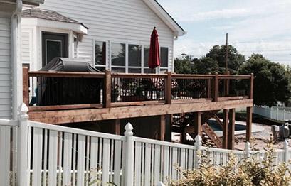 St. Louis home deck instalation