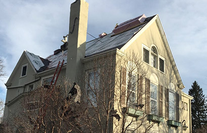 St. Louis Exterior Roof Instalation