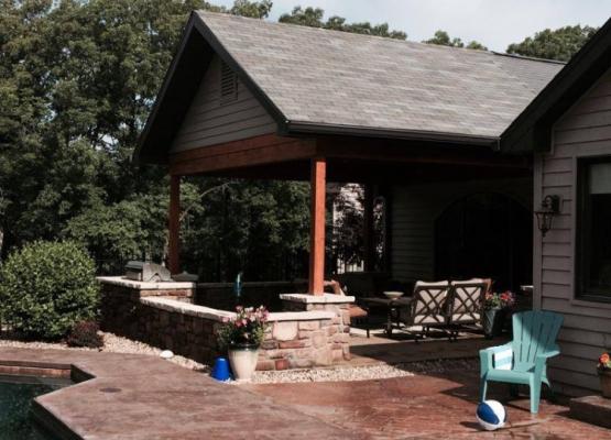 St. Louis porch addition installation