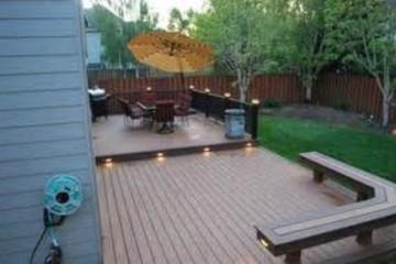 St. Louis wood deck installation