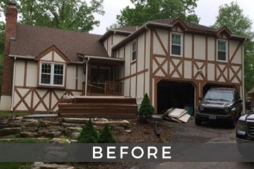 St. Louis home exterior remodel